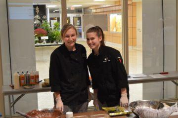 CPI culinary arts students