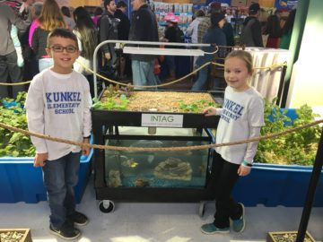 picture Kunkel 3rd Graders Display Aquaponics at PA Farm Show