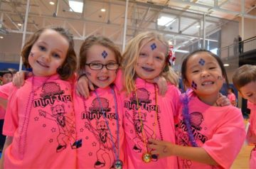 image Students attending the Montgomery Elementary Mini-THON
