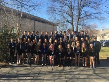 image Midd-West DECA attendees in Hershey