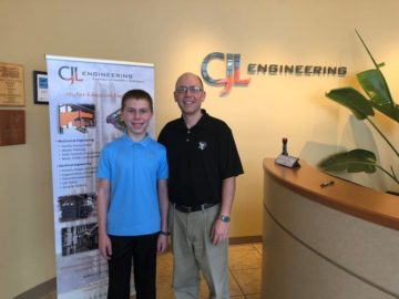 Inited SD Elementary Student learns about Engineering