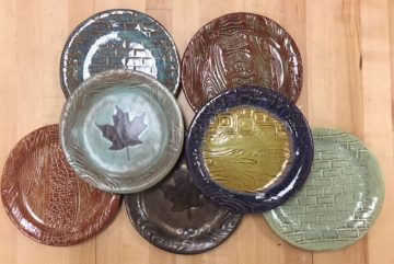 image of homemade plates