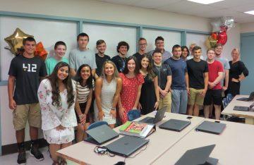 The first-ever INCubatoredu Class at Thomas Jefferson High School